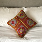 Crochet Kit - Flower Power Cushion