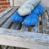 A lovely Three Valleys Shawl Kit