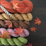 Hello Autumn Shawl by Heike Gittins (Kit)