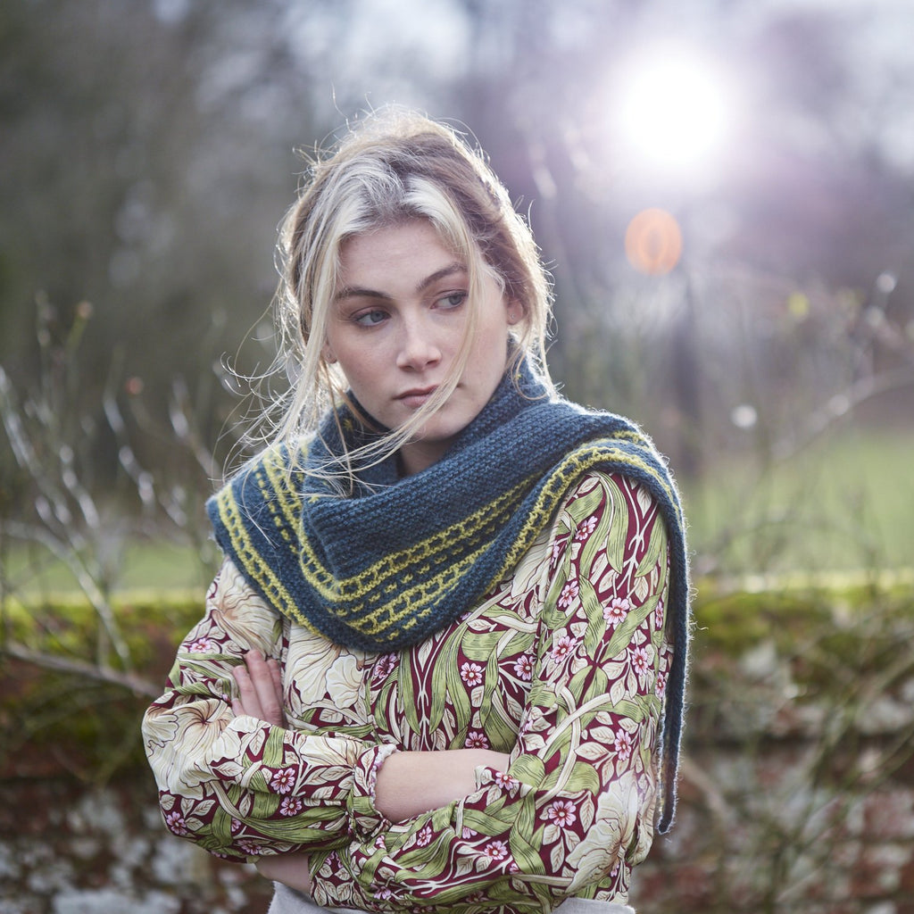Hangers Hyle Shawl - Sticka - The Tithe Collection