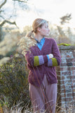 Cherry Plum Cardigan - Sticka - The Tithe Collection