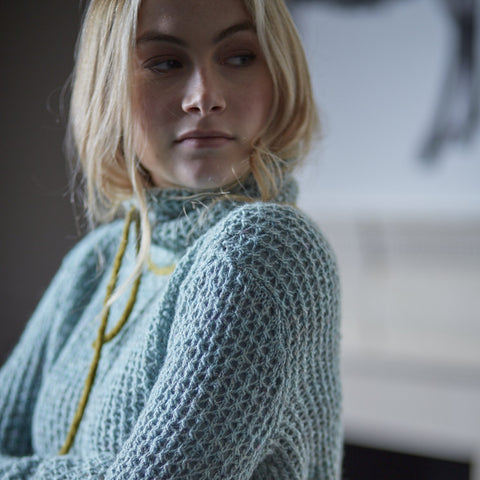 Chequers Sweater - Sticka - The Tithe Collection