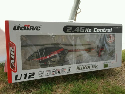RC HELICOPTER LARGE METAL VERSION WITH GYRO