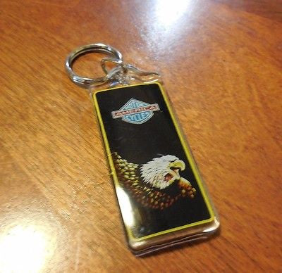MOTORCYCLES AMERICA KEY CHAIN DESIGN FASHION