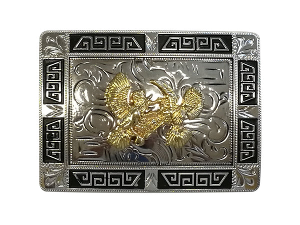 COCK FIGHTER BELT BUCKLE WESTERN FASHION ART-#3291-14-BRAND NEW
