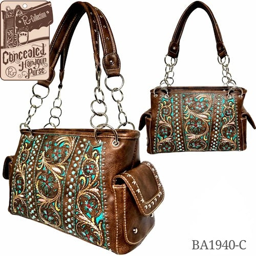 P&G WESTERN WOMEN'S HANDBAG FASHION PURSE -- BA1940C-FREE SHIPPING