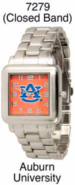 AUBURN TIGERS APOSTLE LICENSED STAINLESS STEEL WATCH WESTERN FASHION BRAND NEW: Item# 7279-- Free Shipping