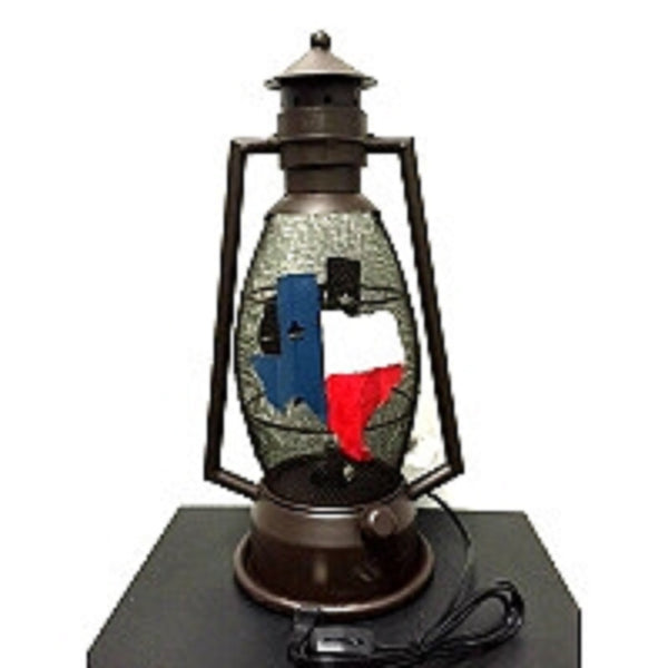 STATE OF TEXAS METAL ART ELECTRIC LANTERN LAMP WESTERN HOME WALL DECOR LIGHTING