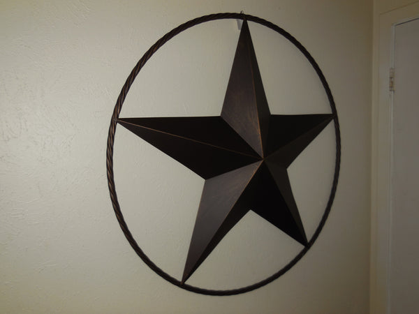 Barn Metal Lonestar Twister Rope Western Home Wall Decor, Item# A13203 - egifthome