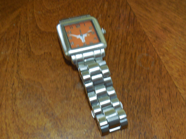Texas Longhorns Licensed Stainless Steel Watch - Men, Item# C7294N