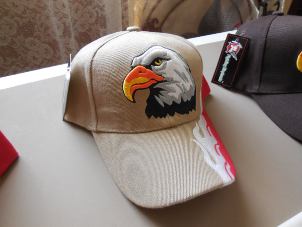 EAGLE VINTAGE BASEBALL CAP - EMBROIDERED BALL CAP, BRAND NEW