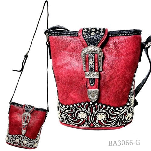 P&G WESTERN WOMEN'S HANDBAG FASHION BRAND NEW -BA3066G-FREE SHIPPING