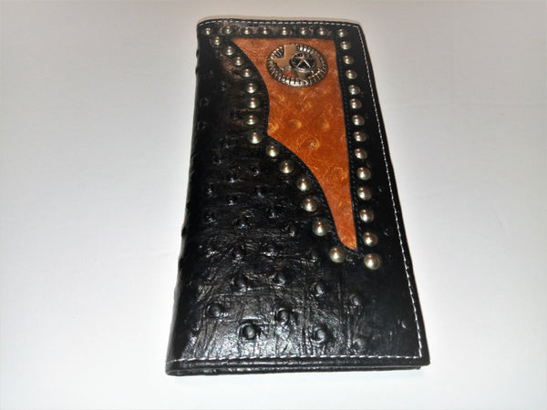 STATE OF TEXAS LONE STAR STATE GENUINE LEATHER CHECKBOOK MEN'S & WOMEN'S WALLETS