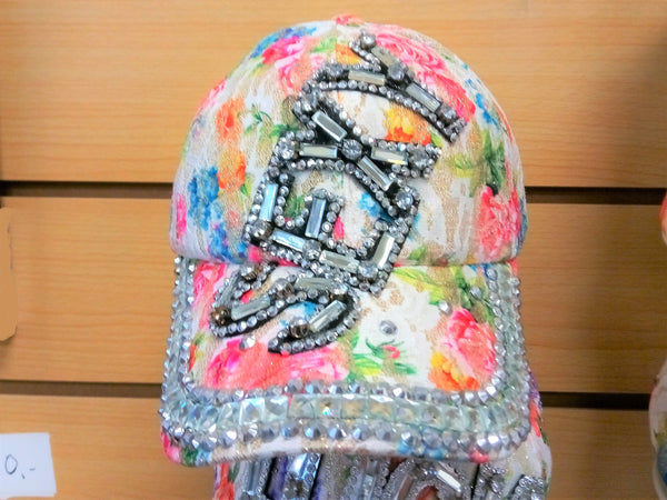 """SEXY"" BEADED BLING RHINESTONE COLORFUL WOMEN'S & GIRL CAP - ""SEXY"" WESTERN SUMMER FASHION ART BRAND NEW-- Free Shipping"
