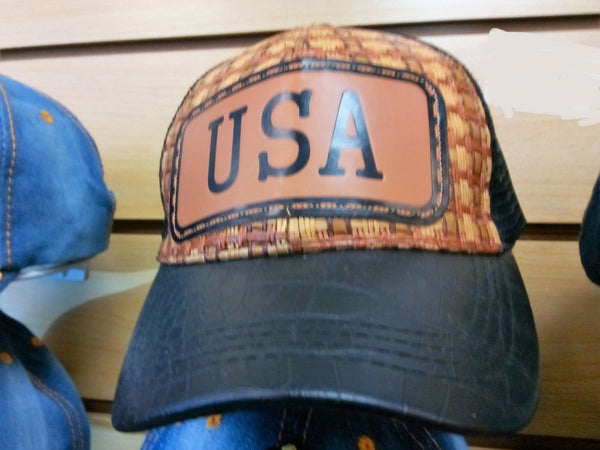 USA VINTAGE BASEBALL CAP - EMBROIDERED BALL CAP, BRAND NEW