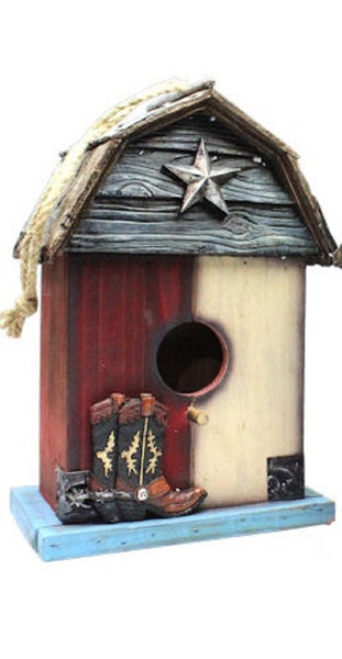 LONE STAR BIRDHOUSE-#RA1379-BRAND NEW-FREE SHIPPING