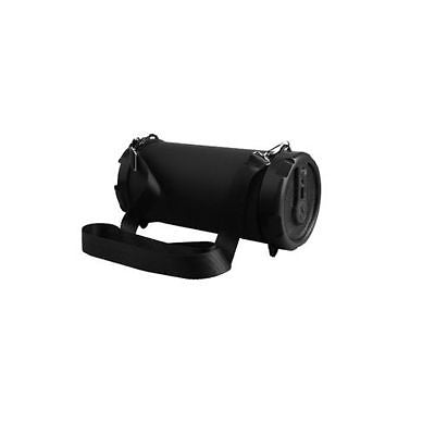 Bluetooth Portable Speaker Wireless Bass Stereo Indoor & Outdoor Drum Bazooka Speaker with Shoulder Strap, Item# A17-B49UF