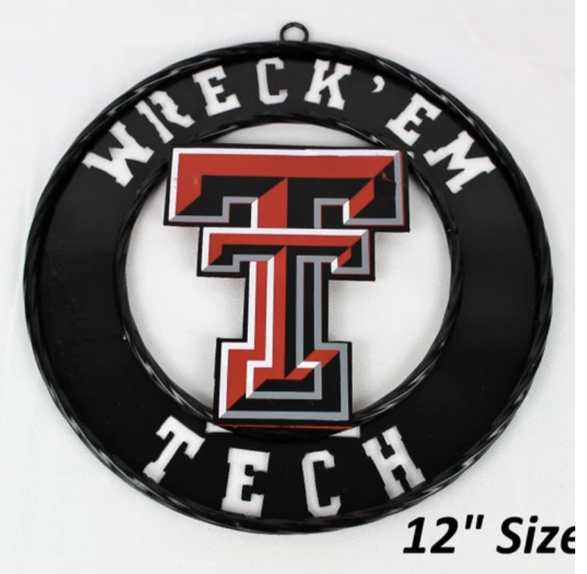 "12"" WRECK'EM TECH METAL CUSTOM VINTAGE CRAFT OFFICIAL LICENSED PRODUCT"