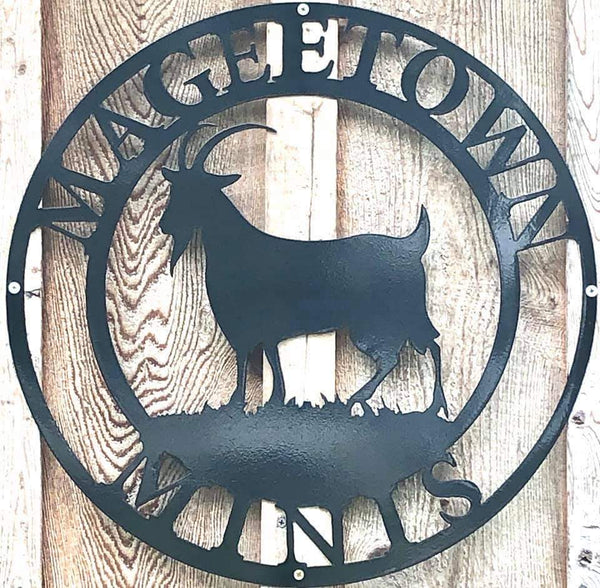 CUSTOM NAME DEER  METAL LASERCUT METAL SIGN WESTERN HOME DECOR BLACK HANDMADE