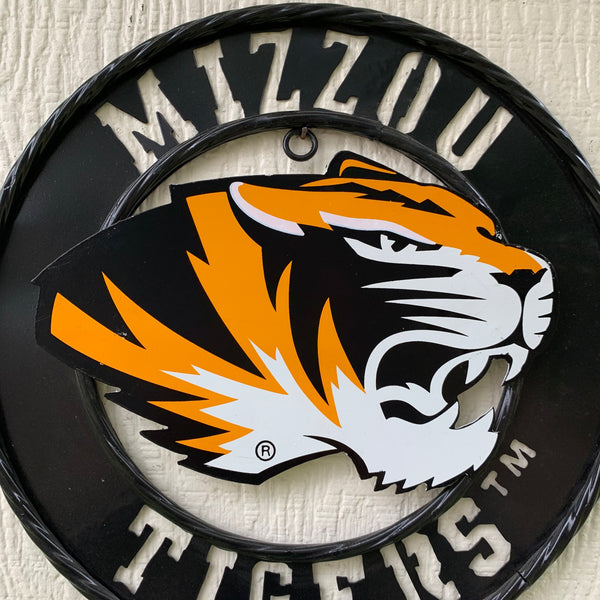 "12"", 18"", 24"", 32"" MISSOURI TIGERS MIZZOU CUSTOM VINTAGE CRAFT METAL SIGN HANDMADE"