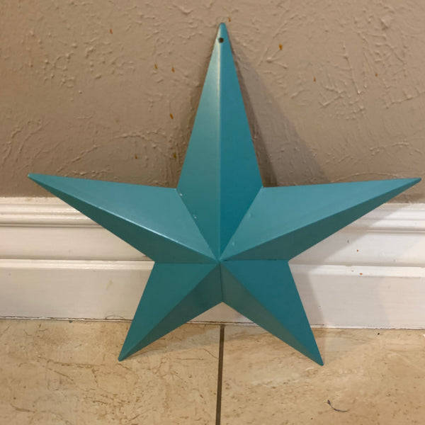 "TEAL BARN METAL STAR WESTERN HOME DECOR VINTAGE RUSTIC BRONZE ART NEW, 3"",4"",5"",6"",9"",12"""