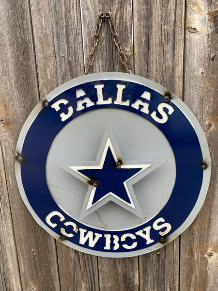 "15"" FAVORITE TEAM CUSTOM SIGN ART WESTERN HOME DECOR BRAND NEW"