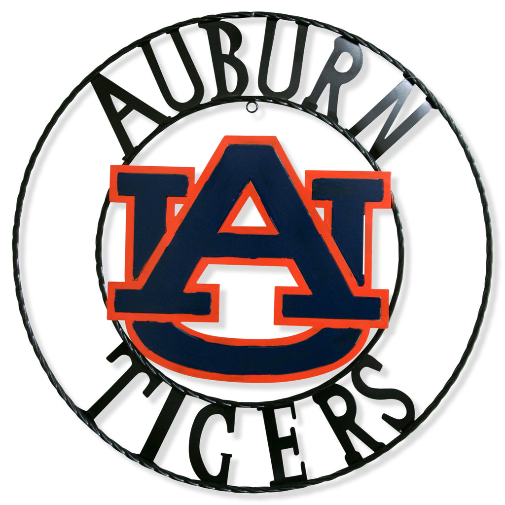 "12"", 18"", 24"", 32"" AUBURN TIGERS METAL SIGN VINTAGE TEAM CUSTOM ART"