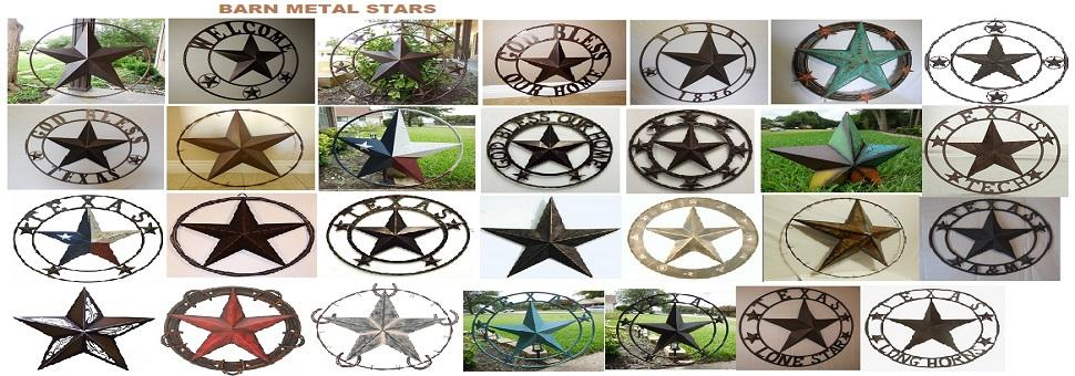 Metal Stars Handmade Collections
