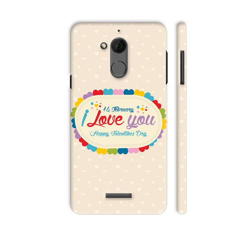 14 Feb I Love You Valentine Day Coolpad Note 5 Cover | Artist: Designer Chennai