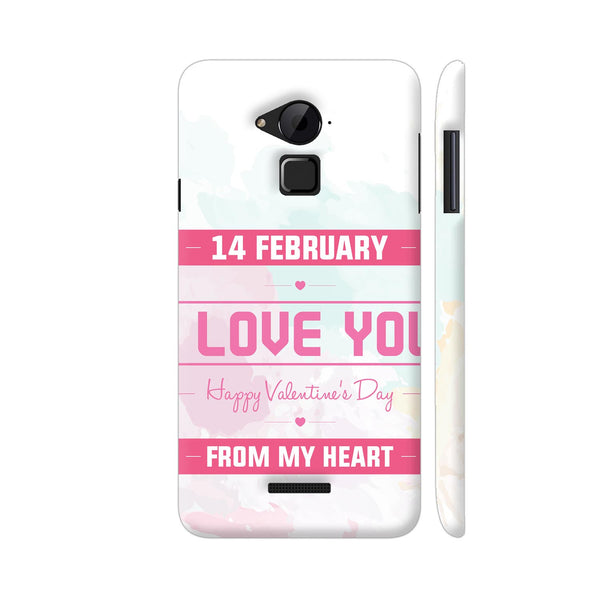 14 Feb Valentine Day From My Heart Coolpad Note 3 / Note 3 Plus Case