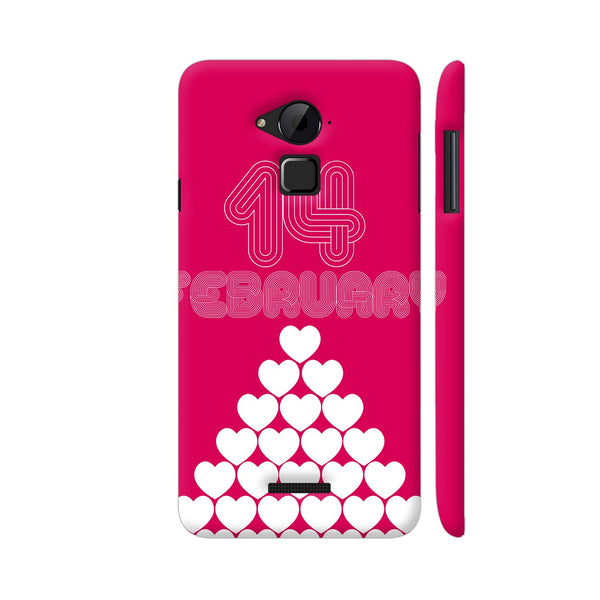 14 February Heart Stack Coolpad Note 3 / Note 3 Plus Case