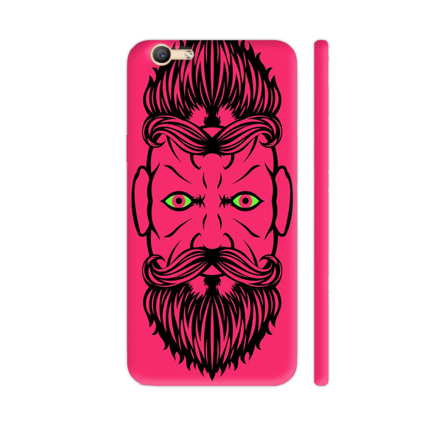 2 Beardiful On Pink Vivo V5 / V5s Cover | Artist: Art Life
