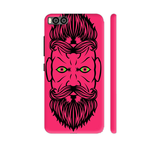 2 Beardiful On Pink Xiaomi Mi 6 Cover | Artist: Art Life