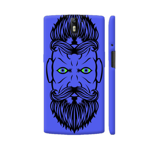 2 Beardiful On Purple OnePlus One Case