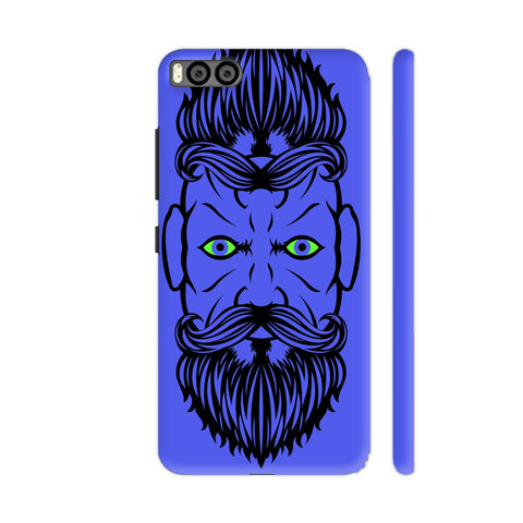 2 Beardiful On Purple Xiaomi Mi 6 Cover | Artist: Art Life