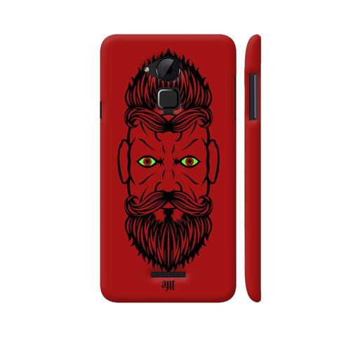 2 Beardiful On Red Coolpad Note 3 / Note 3 Plus Case