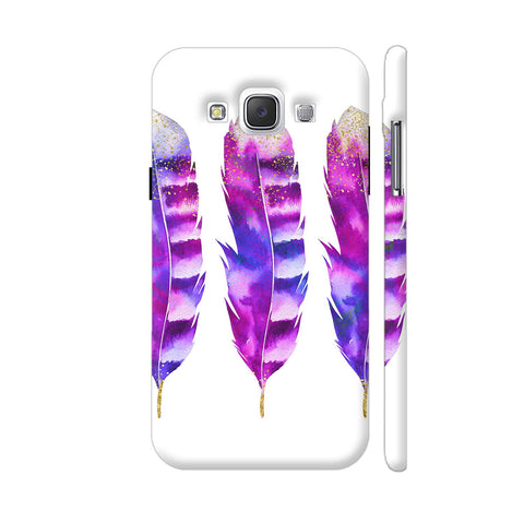 3 Pink Feathers Samsung Galaxy E5 Case