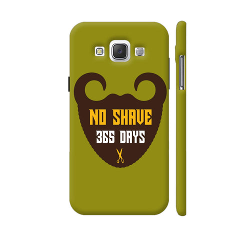 365 Days Of Beard No Shave Samsung Galaxy E5 Case