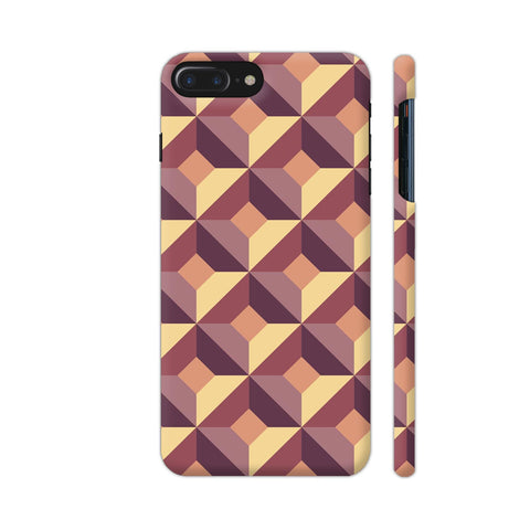 3D Abstract Design iPhone 7 Plus Cover | Artist: Astha