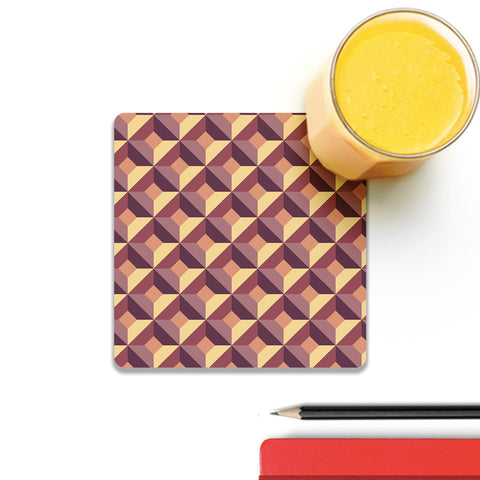 3D Abstract Design Coaster