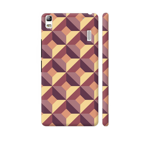 3D Abstract Design Lenovo K3 Note Cover | Artist: Astha