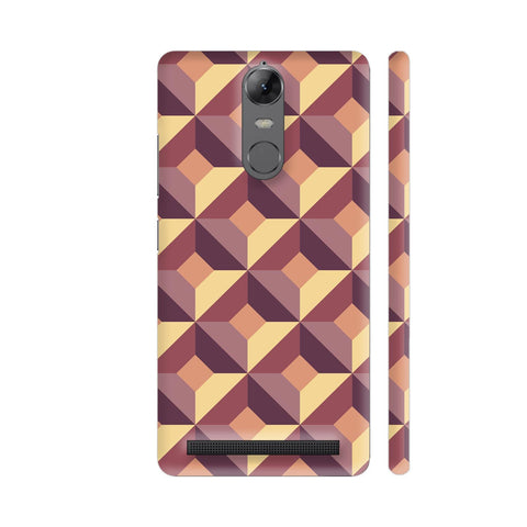 3D Abstract Design Lenovo K5 Note Cover | Artist: Astha