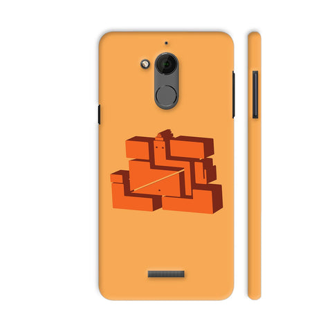 3D Ganpati On Yellow Coolpad Note 5 Cover | Artist: desiGuy
