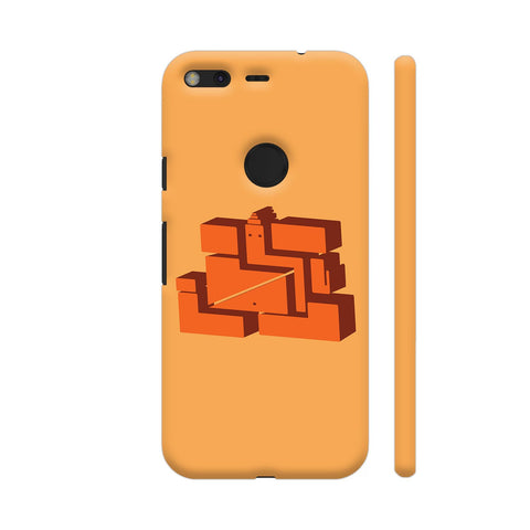 3D Ganpati On Yellow Google Pixel XL Cover | Artist: desiGuy
