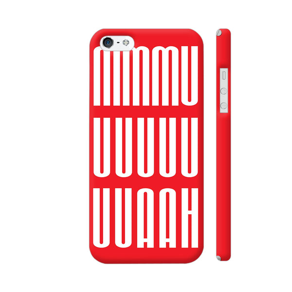 A Blissful Kiss In Red iPhone 5 / 5s Cover | Artist: Art By Fauji