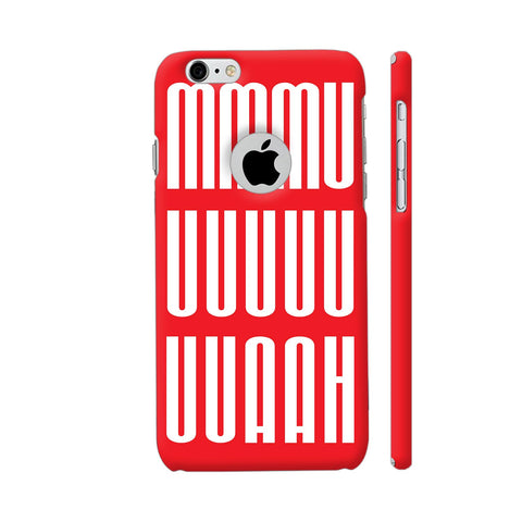 A Blissful Kiss In Red iPhone 6 / 6s Logo Cut Cover | Artist: Art By Fauji