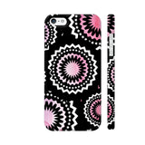Abstract Circles Or Mechanical Gears In Pink iPhone 5 / 5s Cover | Artist: Urvashi