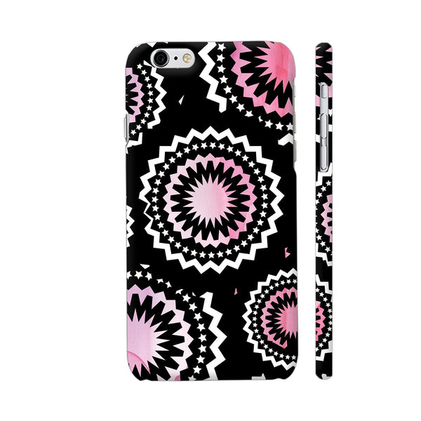Abstract Circles Or Mechanical Gears In Pink iPhone 6 / 6s Cover | Artist: Urvashi