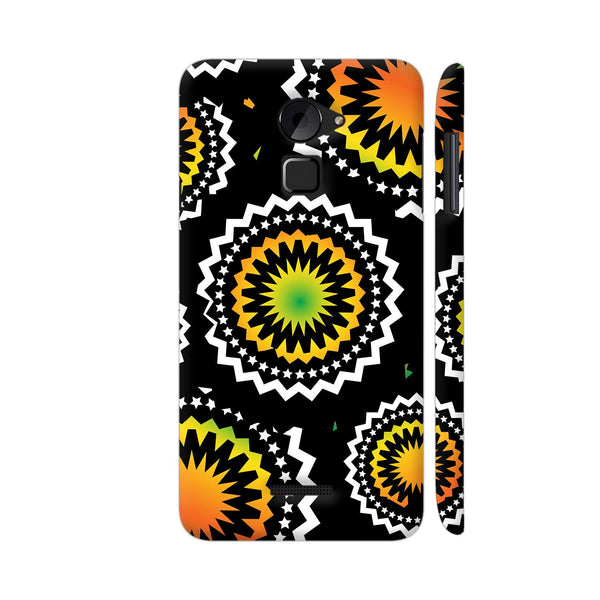 Abstract Circles Or Mechanical Gears In Yellow Orange Coolpad Note 3 Lite Cover | Artist: Urvashi