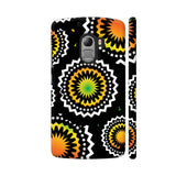 Abstract Circles Or Mechanical Gears In Yellow Orange Lenovo K4 Note Cover | Artist: Urvashi